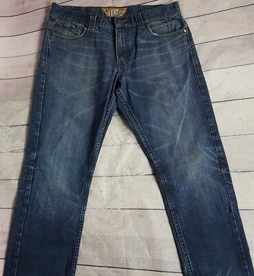 Levis 511 Jeans Men's Skinny Slim Fit Dark Wash Originals Size 34x30