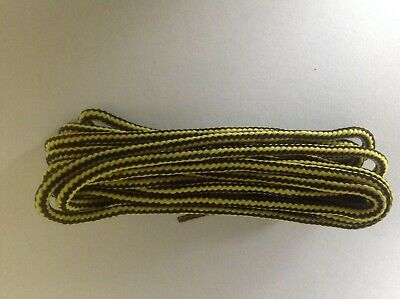 Dr Martens Original 1460 8 Hole yellow and black 140cm boot Laces