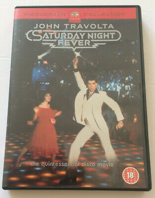 Saturday Night Fever DVD John Travolta Widescreen Collection