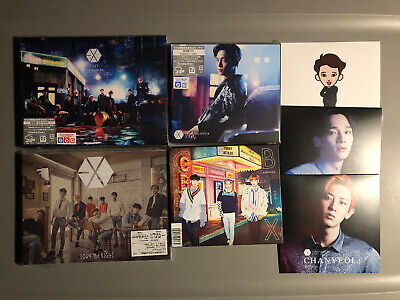 EXO Japan Coming Over Love Me Right Chen Chanyeol CBX Girls Cd+Dvd