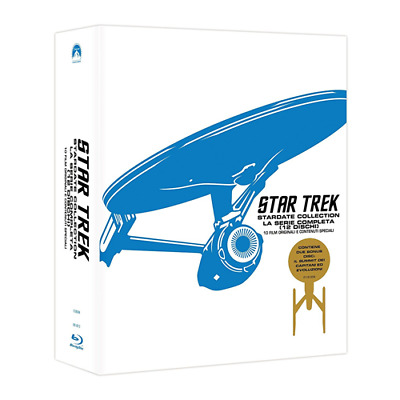 Box *** STAR TREK Stardate Collection - La Serie Completa (12 Blu-ray) *** sigil