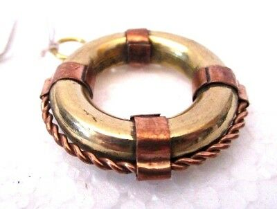 Brass Life Ring - Little and Very Nice - Nautical / Marine - FREE SHIPPING(135)