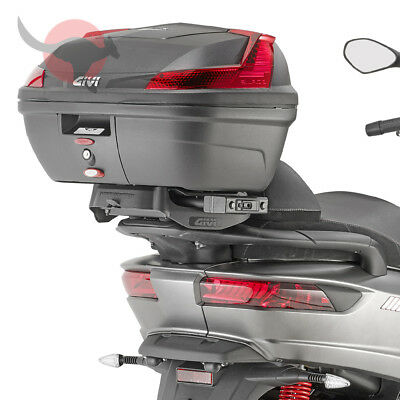 Porte-Bagages [ Givi ] - Piaggio MP3 350/500 Sport / Business (2018) -