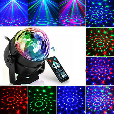 RGB Laser Projector Remote Control Led Disco Light  Sound Activated Stage Lamp