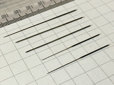 Watchmakers cutting broaches - micro size - 0.1 to 1mm