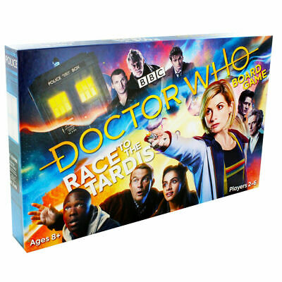 Doctor Who Race to the Tardis Board Game, Toys & Games, Brand New