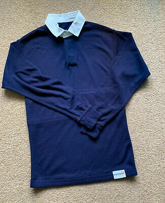 School Navy Reversable Rugby Shirt Size  34""