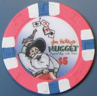 $5 Casino chip, Nugget, Crystal Bay, NV. C07.