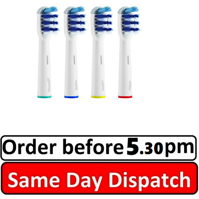Braun Oral B TRIZONE Electric Replacement compatible Tooth Brush Heads 2-8 Pack