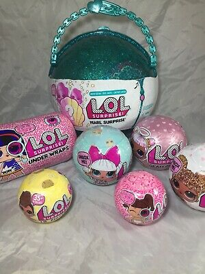LOL SURPRISE Limited Pearl 7 Dolls Series 1 Lil Sister Eye Spy Glam Glitter Wrap