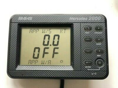 B&G H2000 FFD display works with H2000  and H3000 USED with cable
