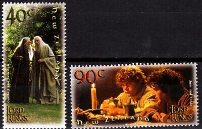 NEW ZEALAND 2001 Lord of The Rings. Movie. Incomplete, MNH
