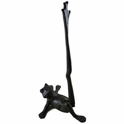 - Cast Iron Frog Paper Towel Holder