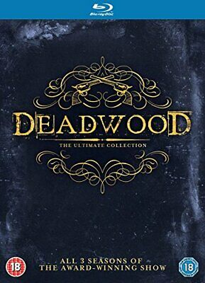 DEADWOOD THE COMPLETE COLLECTION [Blu-ray] [Region Free] [DVD][Region 2]