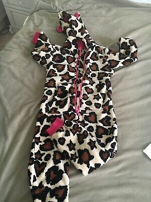 Girls NEXT ONE PIECE ALL IN ONE Brown Mix Polyester Age 6 Yrs