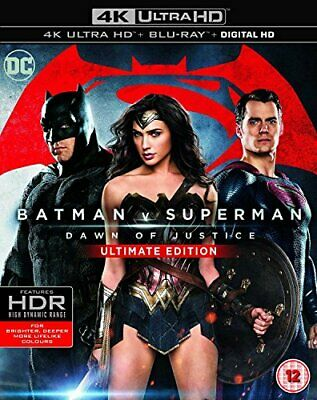 Batman v Superman: Dawn of Justice (Ultimate Edition 4K Ultra HD) [DVD]