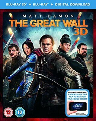 THE GREAT WALL [digital download] [Blu-ray 3D] [2017] [DVD][Region 2]
