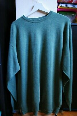 90s Grunge Baggy BALLANTYNE Knit PURE CASHMERE Jumper L Oversized 10-16