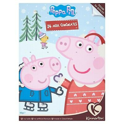 Kinnerton Peppa Pig Value Advent Calendars, 40 g