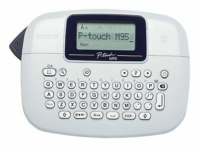 Brother PT-M95 Label Maker, P-Touch Labeller, QWERTY Keyboard, Handheld Printer
