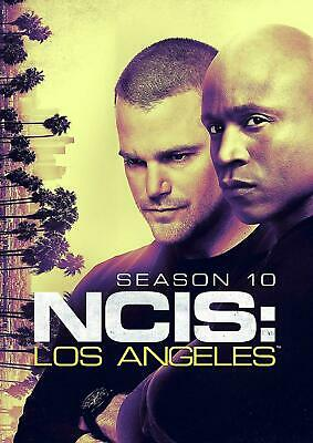 Brand New Sealed Ncis Los Angeles Season 10 Ten 10Th (6 Disc Set) Free Shipping!