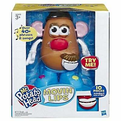 Mr Potato Head E4763802 Playskool Movin' Lips Electronic Interactive Talking ...