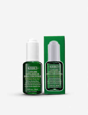 KIEHL'S - CANNABIS SATIVA SEED OIL HERBAL CONCENTRATE, 30 ml - new 2019