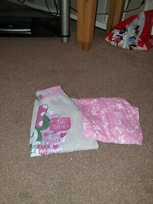 Girls Minnie Mouse Pyjamas Age 9-10 Years