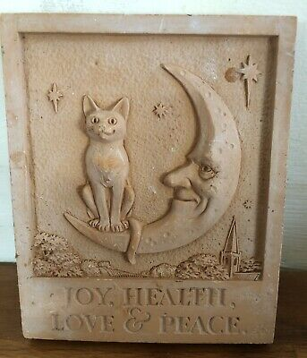 Latex Mould for making this Small Cat Plaque