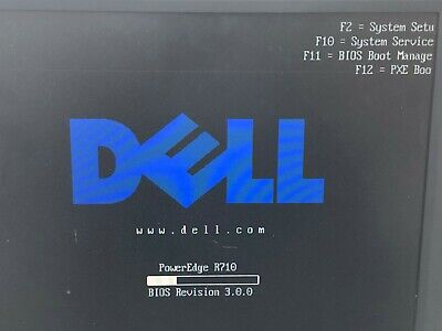 Dell PowerEdge R710 2x Quad Core 2.8GHz 16GB RAM with H700  RAID Card