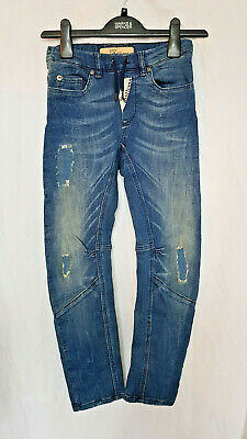 Authentic John Galliano Paris Designer Boys jeans age 8 yrs NEW with tags