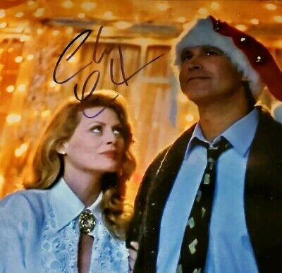 """Chevy Chase Signed AUTOGRAPHED 8×10 """"CHRISTMAS VACATION"""" Color PHOTO AUTHENTIC"""