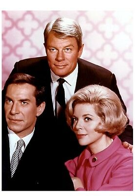 FORMAT 11X15 CM  #2 PHOTO MISSION IMPOSSIBLE PETER GRAVES /& BARBARA BAIN