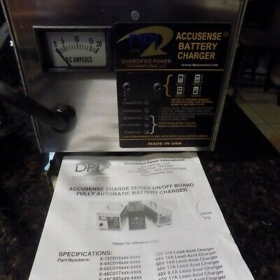 Accusense Charge Battery Charger Dpi Model 1-48017-04