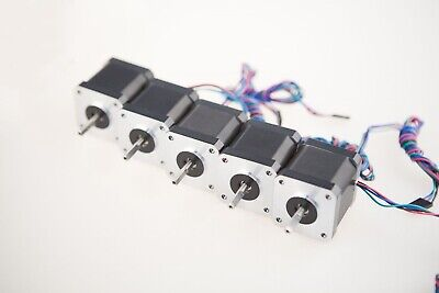 Stepper Motor 5PCS Nema17 78oz.in 1.5A 1m cable W Connector 3D Printer 3~7Days