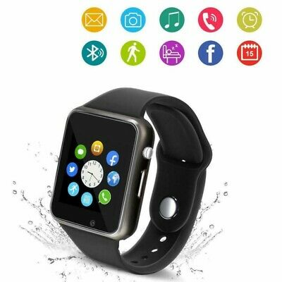G/Waterproof Bluetooth Smart Watch Phone Mate For iphone IOS Samsung LG Android