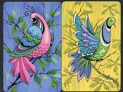 Beautiful Vintage Bird Theme Cards In Excellent New Condition