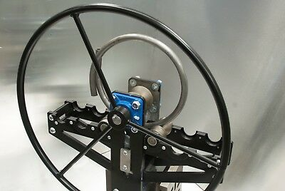 New Ring Roller, bender, Flat/ round, pipe, box, tube, with round hand wheel