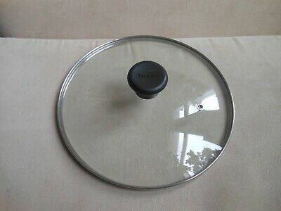 Great Tefal large glass frying saucepan lid see through spare John Lewis RP£14