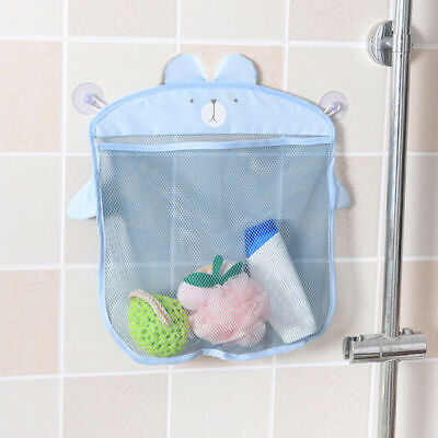 Kids/Baby Time Bath Toy Tidy Storage Suction Bag Cup Mesh P8T0 Organise Bat T5Z6
