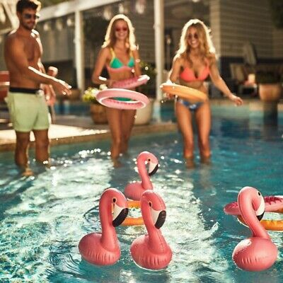 Jeu Anneaux Gonflables Flamants Roses (NEUF) - Sunnylife