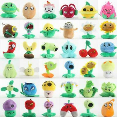 Plants Vs Zombies 2 Plush Toy Set Baby Stuffed Soft Doll 15cm Kids Funny Gift