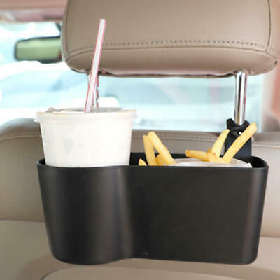 4x Car Headrest Seat Back Mount Organizer Cup Drink Holder Storage Box Uni EAK