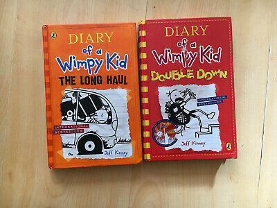 """2x Diary of a Whimpy Kid, """"The Long Haul"""" & """"Double Down"""""""