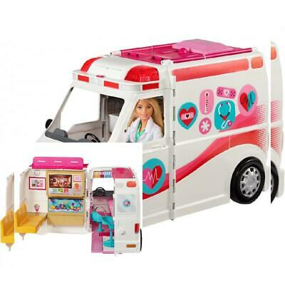 Barbie Care Clinic 2-in-1 Fun Playset for Ages 3Y+ Girls
