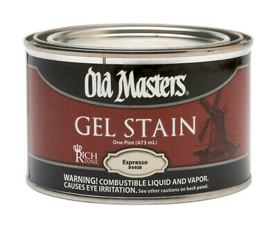 Old Masters  Espresso  Gel Stain  1 Pt. Pack Of 4