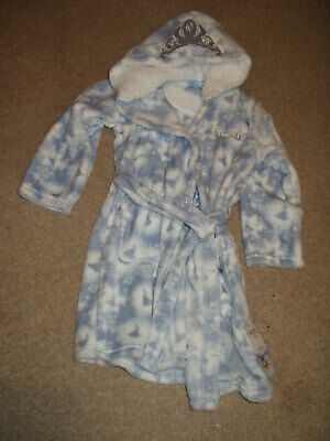 Disney Frozen Dressing Gown. Age 5/6 Yrs. Marks & Spencer. Rrp £17.Bnwt