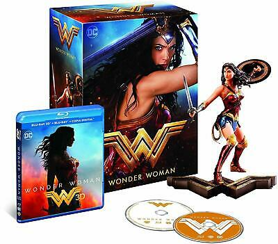 Wonder Woman 3D Blu-Ray Limited Collector Edition With Figurine, Spain