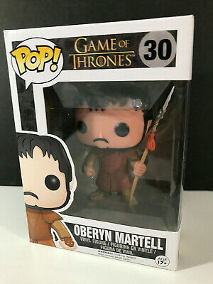 Oberyn Martell 30 Funko POP Game of Thrones GOT Vinyl Vaulted NIB Retired