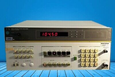 HP Agilent 8901A Modulation Analyzer